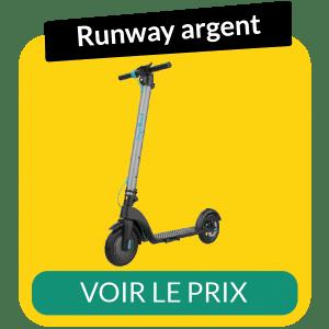Fiche technique trottinette electrique runway argent